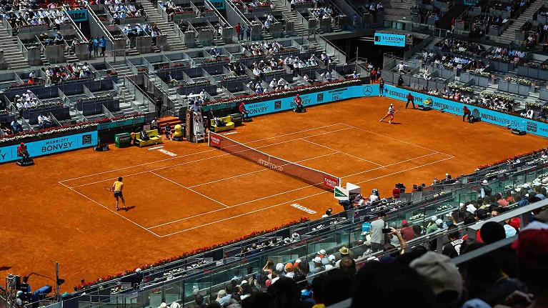 Il centrale del Mutua Madrid Open